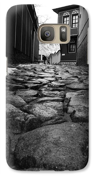 Galaxy Case featuring the photograph Roads by Lucy D