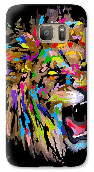Galaxy Case featuring the digital art Roar by Anthony Mwangi