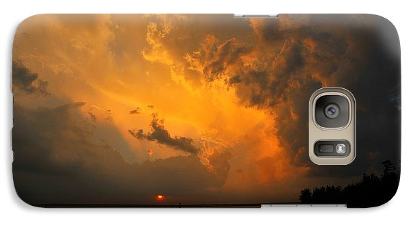 Galaxy Case featuring the photograph Roar Of The Heavens by Terri Gostola