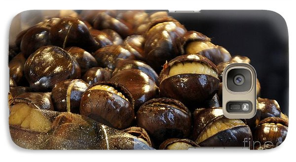 Galaxy Case featuring the photograph Roasted Chestnuts by Lilliana Mendez