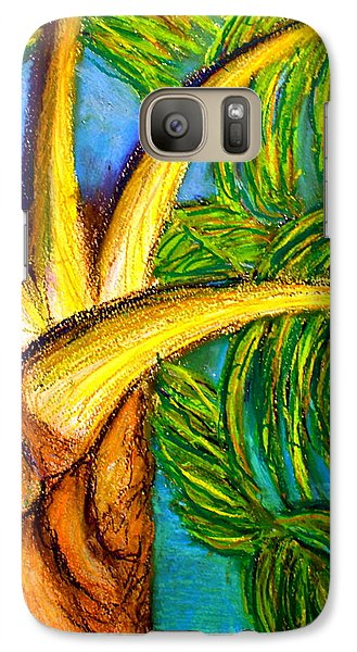 Galaxy Case featuring the drawing Roatan Revel by D Renee Wilson