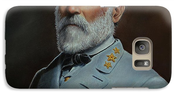 Galaxy Case featuring the painting Robert E. Lee by Glenn Beasley
