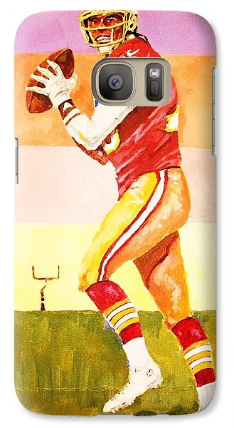 Galaxy Case featuring the painting Robert Griffin Lll by Al Brown
