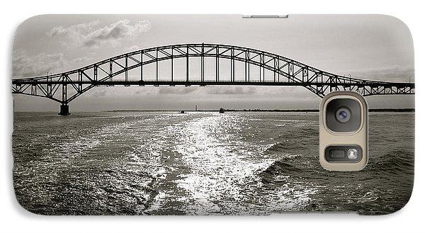Galaxy Case featuring the photograph Robert Moses Bridge by Paul Cammarata