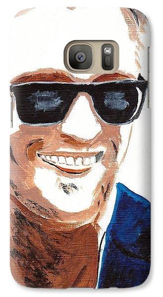 Galaxy Case featuring the painting Robert Pattinson 118a by Audrey Pollitt