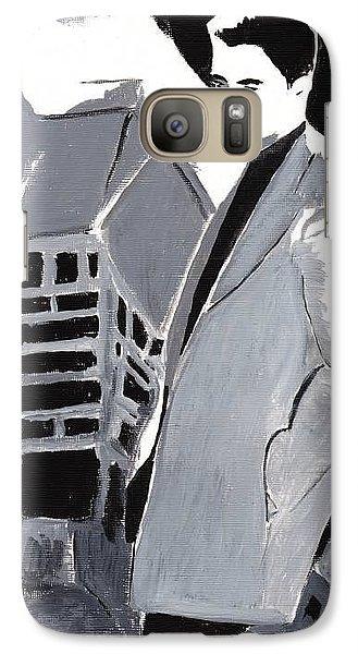 Galaxy Case featuring the painting Robert Pattinson 129 by Audrey Pollitt