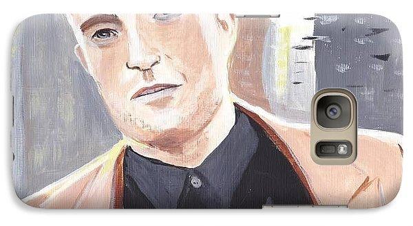 Galaxy Case featuring the painting Robert Pattinson 133a by Audrey Pollitt