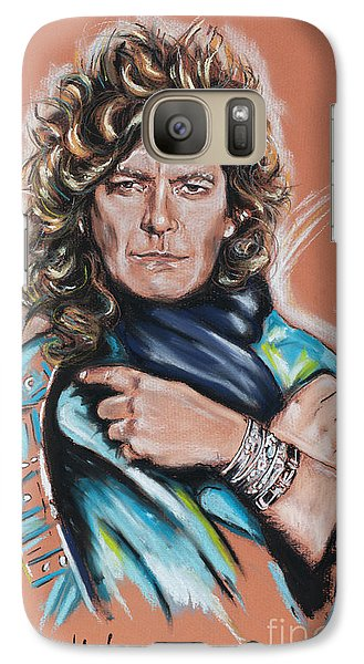 Robert Plant Galaxy S7 Case by Melanie D