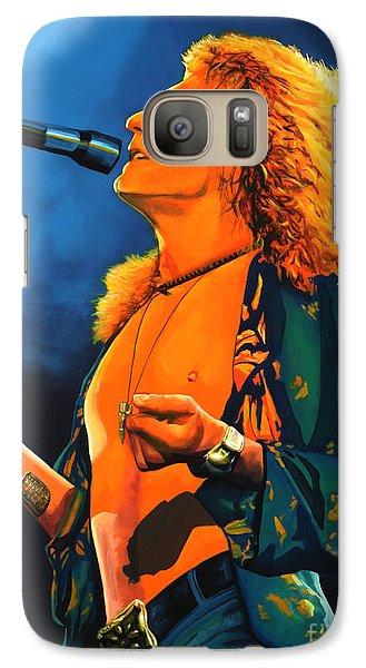 Realistic Galaxy S7 Case - Robert Plant by Paul Meijering