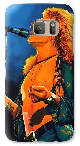 Musicians Galaxy S7 Case - Robert Plant by Paul Meijering