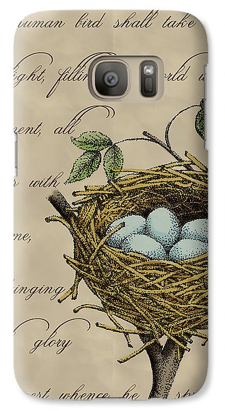 Robin's Nest Galaxy Case by Christy Beckwith
