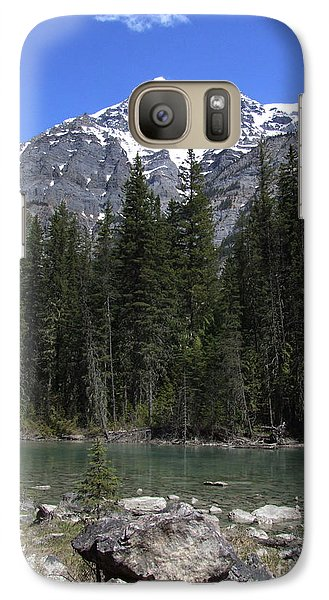 Galaxy Case featuring the photograph Robson River - Canada by Phil Banks