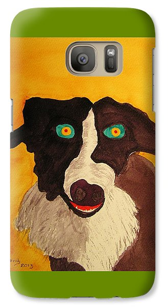 Galaxy Case featuring the painting The Storyteller by Rand Swift