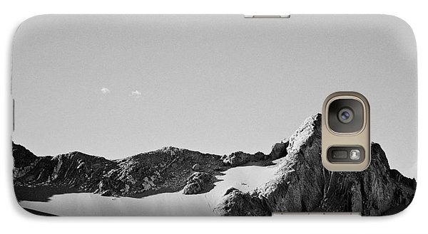 Galaxy Case featuring the photograph Rock And Sand by Lana Enderle