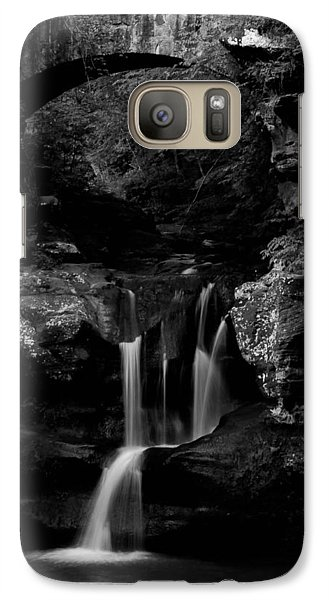 Galaxy Case featuring the photograph Rock And Water by Haren Images- Kriss Haren