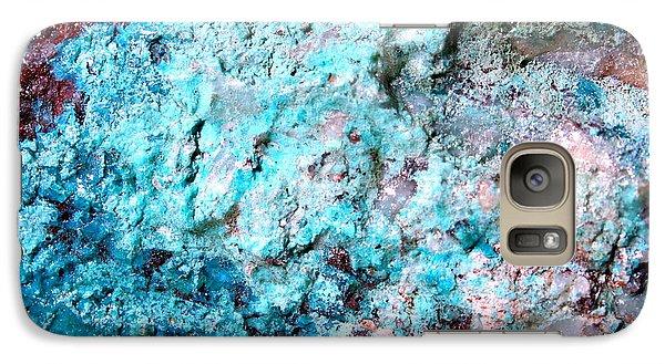 Galaxy Case featuring the photograph Rock Art 1 by M Diane Bonaparte