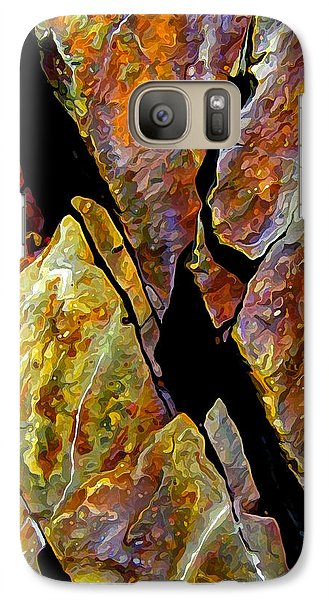 Galaxy Case featuring the photograph Rock Art 17 by ABeautifulSky Photography