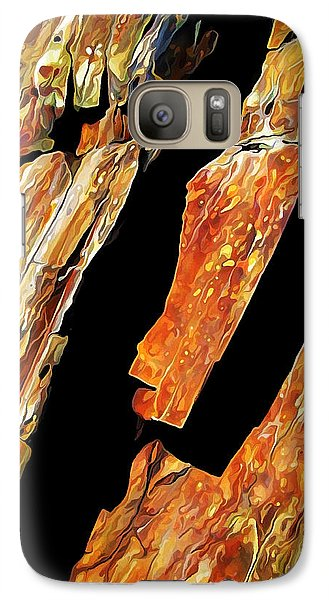 Galaxy Case featuring the photograph Rock Art 21 by ABeautifulSky Photography
