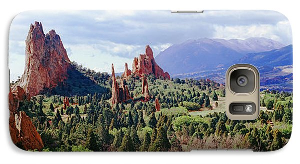 Rock Formations On A Landscape, Garden Galaxy Case by Panoramic Images