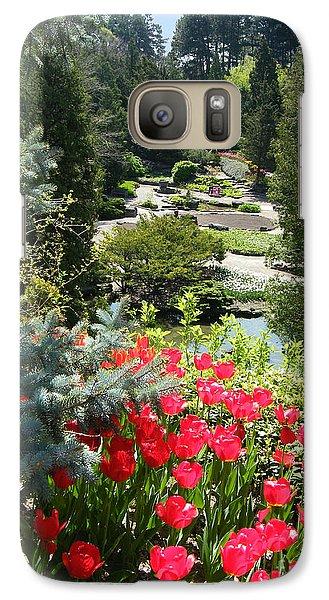 Galaxy Case featuring the photograph Rock Garden - Hamilton - Ontario by Phil Banks
