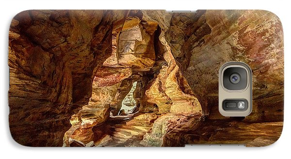 Rock House At Hocking Hills Oh Galaxy S7 Case
