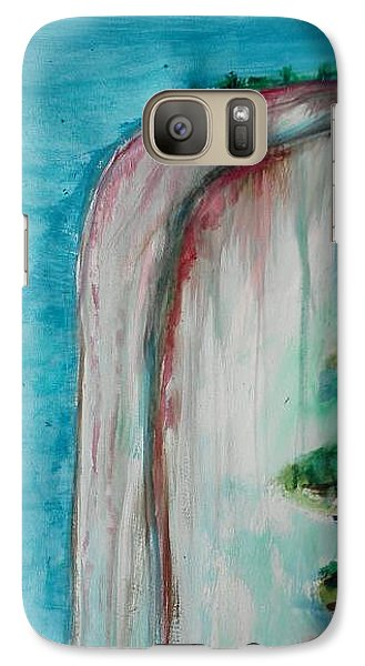 Galaxy Case featuring the painting Rock Of Ages by Carol Duarte