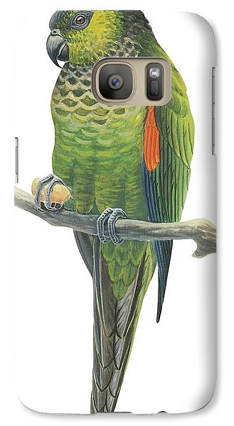 Rock Parakeet Galaxy Case by Anonymous
