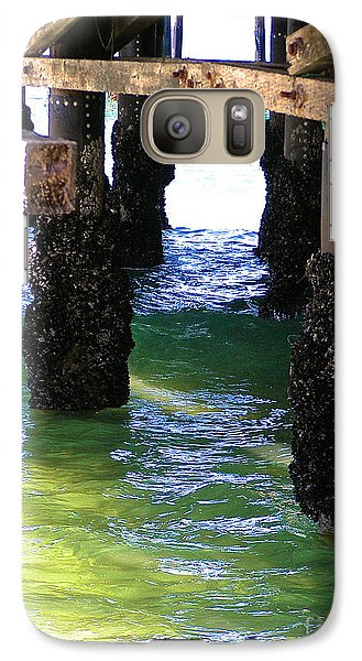 Galaxy Case featuring the photograph Rock Solid by Margie Amberge