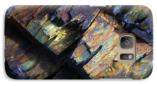 Galaxy Case featuring the photograph Rock Art 2 by ABeautifulSky Photography