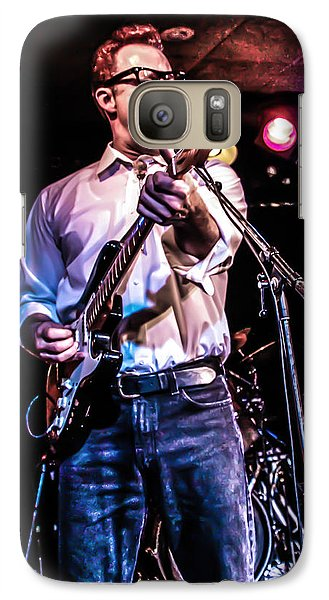 Galaxy Case featuring the photograph Rockabilly Cat by Ray Congrove