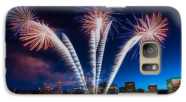 Galaxy Case featuring the photograph Rockets Red Glare by Brian Bonham
