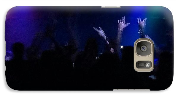 Galaxy Case featuring the photograph Rockin by Thomasina Durkay