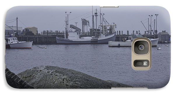 Galaxy Case featuring the photograph Rockland Me by Daniel Hebard