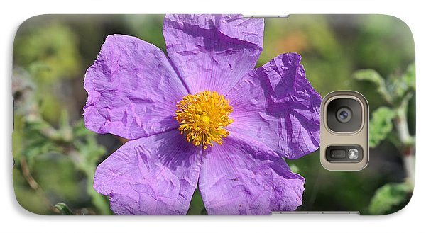 Galaxy Case featuring the photograph Rockrose Flower by George Atsametakis