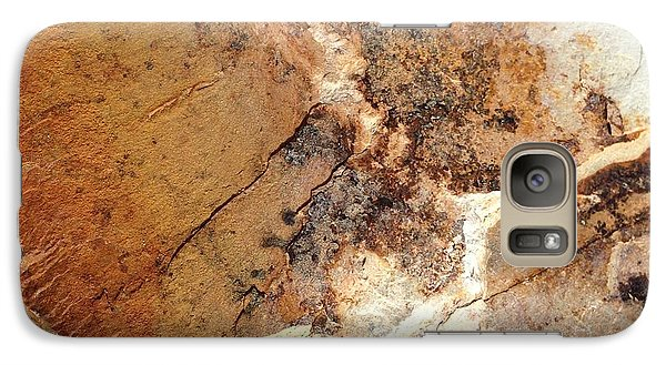Galaxy Case featuring the photograph Rockscape 1 by Linda Bailey