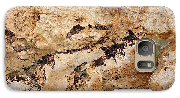 Galaxy Case featuring the photograph Rockscape 3 by Linda Bailey