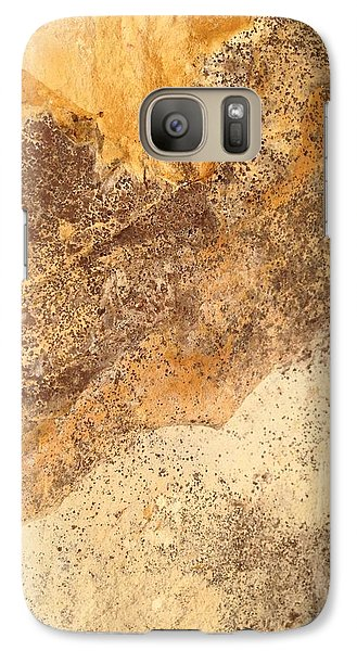 Galaxy Case featuring the photograph Rockscape 7 by Linda Bailey