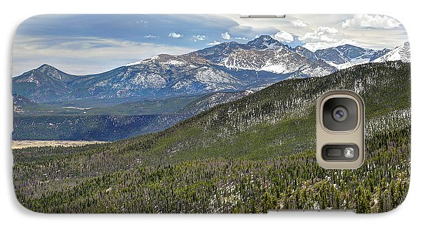 Galaxy Case featuring the photograph Rocky Mountain Cloudscape by Martin Konopacki