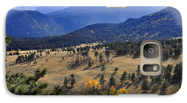 Galaxy Case featuring the photograph Rocky Mountain Evening by Nava Thompson