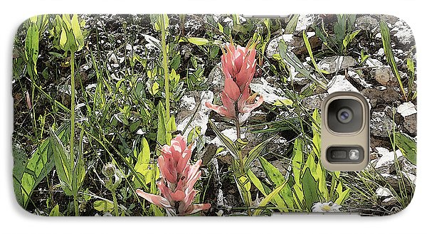 Galaxy Case featuring the photograph Rocky Mountain Flora by Ann Johndro-Collins