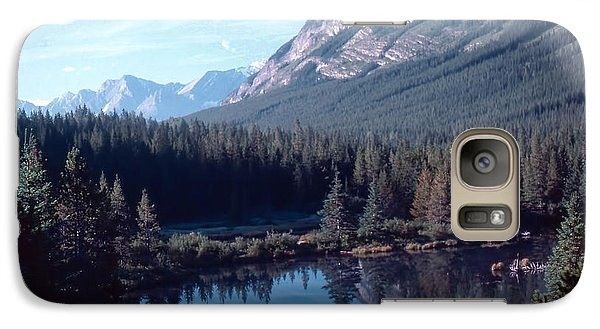 Galaxy Case featuring the photograph Rocky Mountain Gem by Jim Sauchyn