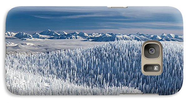 Galaxy Case featuring the photograph Rocky Mountain Winter by Aaron Aldrich