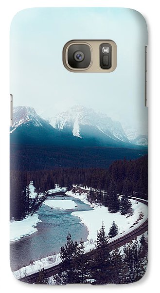 Galaxy Case featuring the photograph Rocky Mountains by Kim Fearheiley