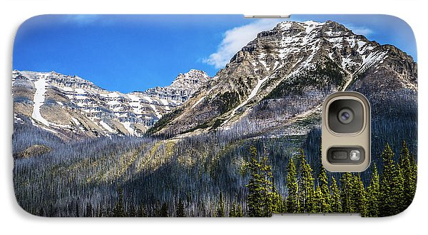 Galaxy Case featuring the photograph Rocky Mountains Kootenay National Park by Rob Tullis