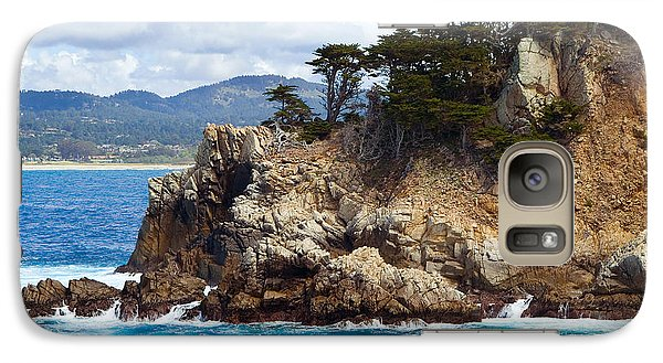 Rocky Outcropping At Point Lobos Galaxy S7 Case