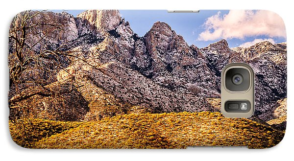 Galaxy S7 Case featuring the photograph Rocky Peaks by Mark Myhaver