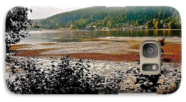 Galaxy Case featuring the photograph Rocky Point Port Moody by Sher Nasser