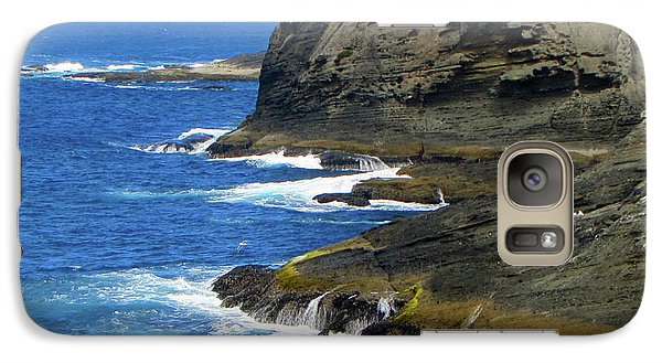 Galaxy Case featuring the photograph Rocky Shores by Tikvah's Hope