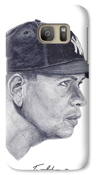 Galaxy Case featuring the painting Rodriguez by Tamir Barkan