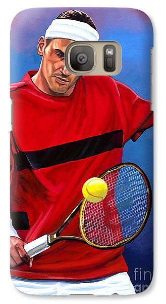 Roger Federer The Swiss Maestro Galaxy S7 Case